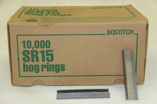Скобы D-Ring Bostitch SR15