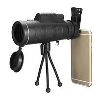 Монокуляр PANDA 40x60 з кріпленням для телефону і триногою надпотужний
