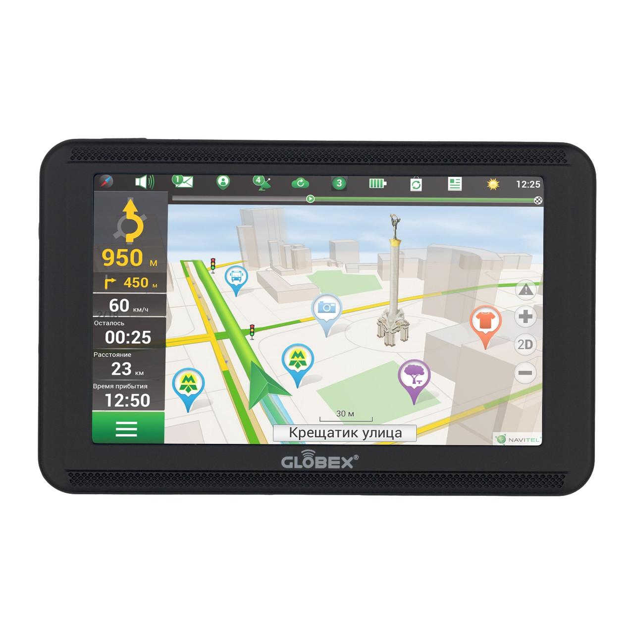 GPS навигатор Globex GE520 IGO для грузовиков Black (glo_10520)Нет в наличии