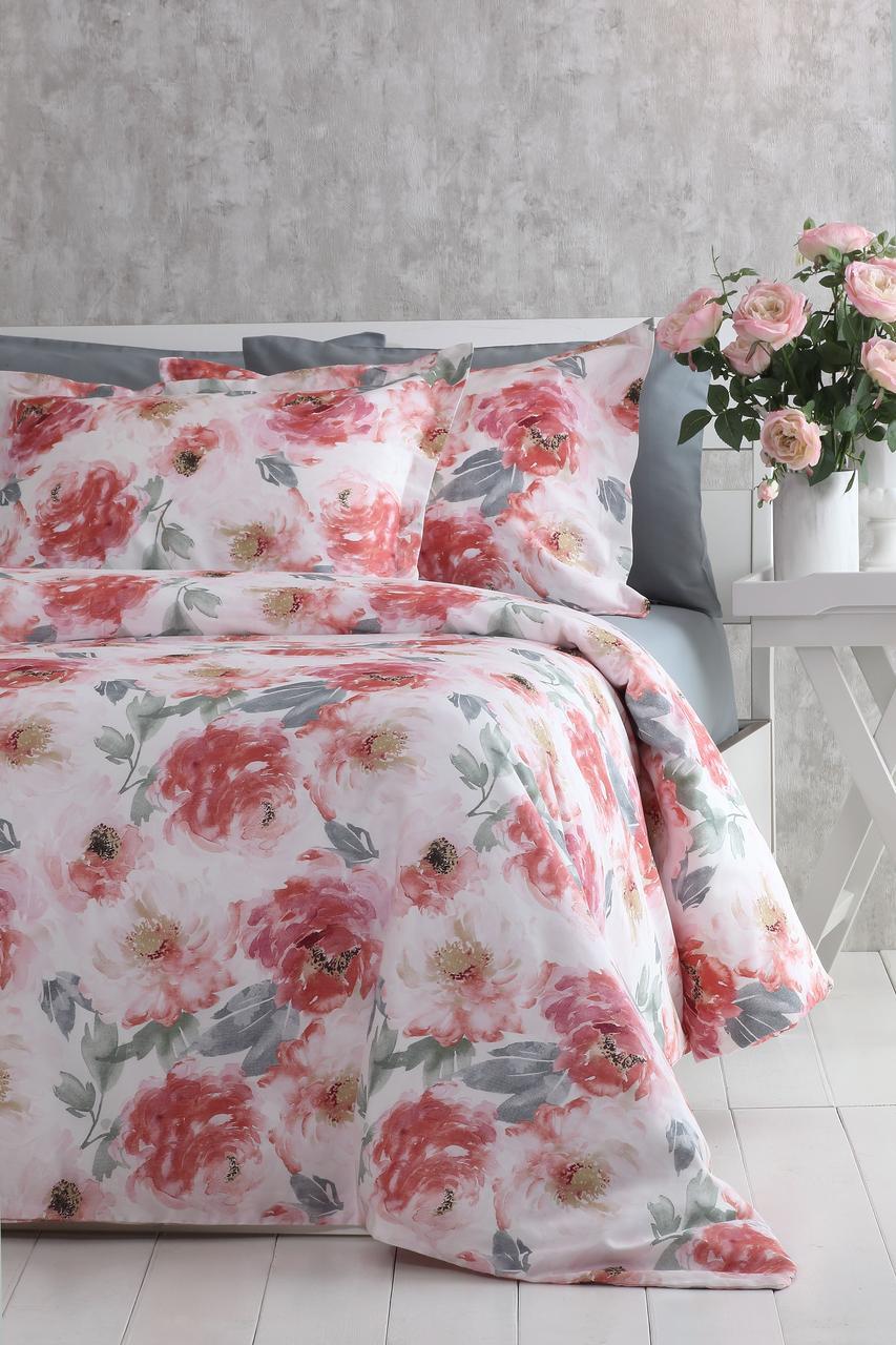 Комплект постільної білизни 200x220 PAVIA ROSETTA рожевий