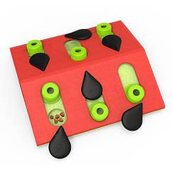 Игрушка-головоломка для кошек «Арбуз»