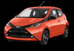 Авточохли для Toyota (Тойота) Aygo 2 (AB40) 2014+