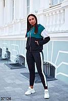 Костюм-двойка спортивний жіночий з двонитки, фото 1
