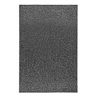 Фоаміран ЕВА чорний з глітером, 200*300 мм, товщина 1,7 мм, 10 аркушів