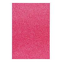 Фоаміран ЕВА яскраво-рожевий з глітером, 200*300 мм, товщина 1,7 мм, 10 аркушів
