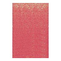 Фоаміран ЕВА рожевий хамелеон з глітером, з клейовим шаром, 200*300 мм, товщ. 1,7 мм, 10