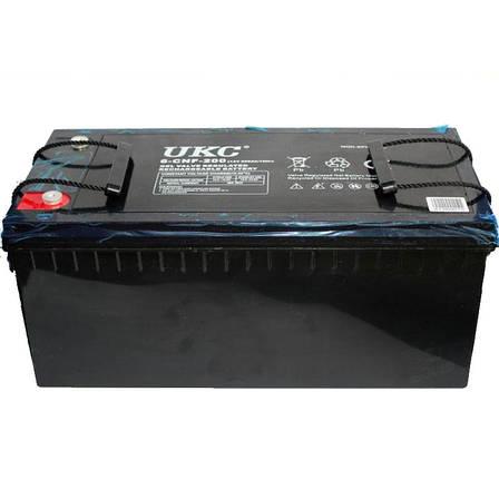 Гелева акумуляторна батарея UKC BATTERY 12V 200A, фото 2