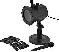 Проектор лазерный Laser Shower Light XL-805 5 касет   Уличный проектор