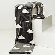 Плед с рукавами из микрофибры Clouds, фото 3