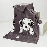 Плед с рукавами из микрофибры Junior Dog, фото 2