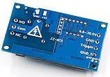 Програмований таймер, електронне реле часу з дисплеєм , 220В 10A, фото 4