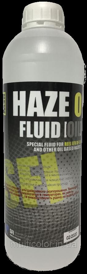 """Жидкость для генераторов тумана Haze """"O"""" Fluid Oil 1л"""