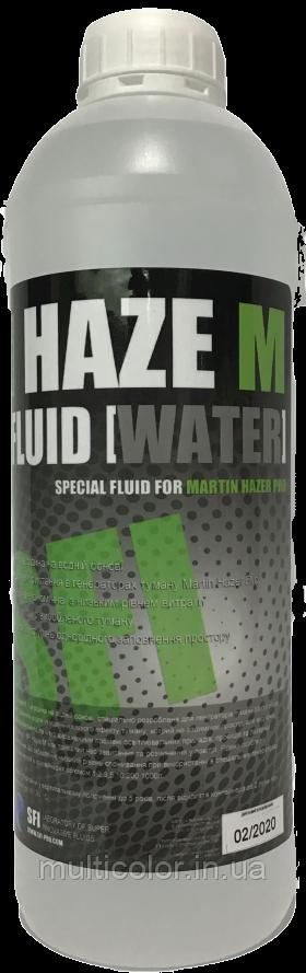 """Жидкость для генераторов тумана Haze """"M"""" Fluid Water 1л"""