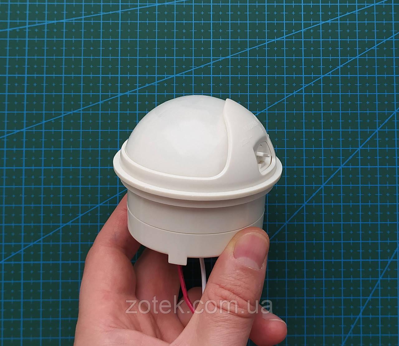 Датчик движения для включения освещения по движению 10А 220В ИК PIR инфрокрасный