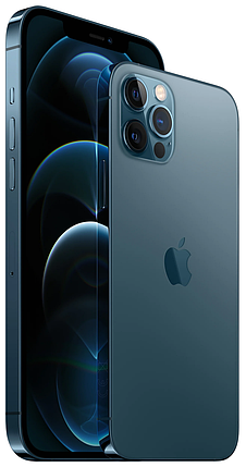 Смартфон Apple iPhone 12 Pro 128GB Pacific Blue (MGMN3), фото 2