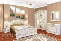 Спальня 4Д Николь (патина)
