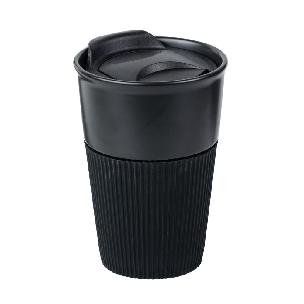 Керамическая чашка Viola Matte Black 350 мл, настольная, 6 цветов