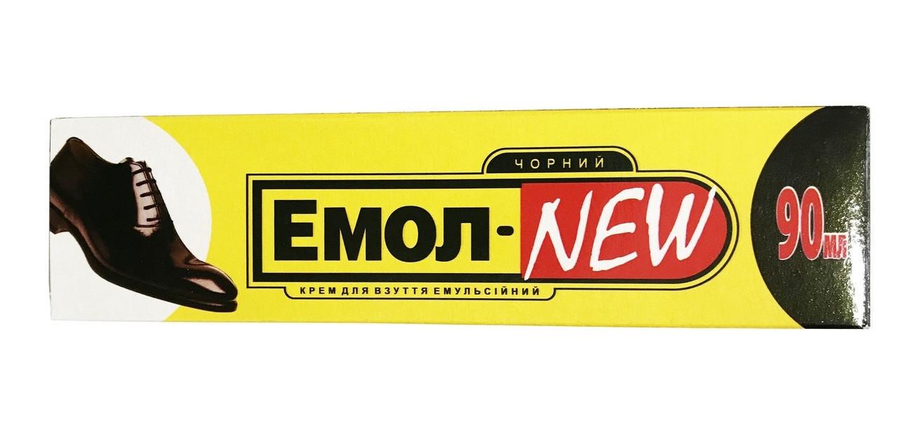Крем для обуви в тубе Эмол - new (реплика на Эмолан) черный 90 мл