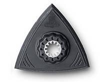 Шлифовальная пластина для обработки алюминиевых ободьев и восстановления лакокрасочного покрытия.