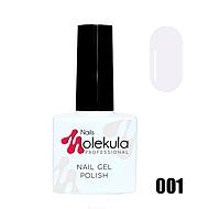 Гель-лак для ногтей Molekula 11мл №001 Ультра белый