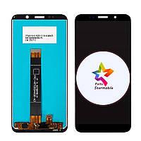 Дисплей TP-Link Neffos C9A TP706A + сенсор черный (оригинальные комплектующие)