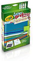 Блокнот для рисования с многоразовой поверхностью Crayola Washable Dry Erase Travel Pack