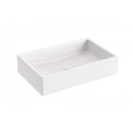 Умивальник Formy 01 600 D white без переливу, фото 2
