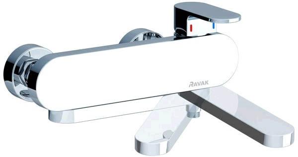Chrome CR 022.00 Смеситель для ванны без лейки, 150 мм, фото 2