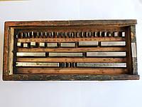 Концевые меры длины № 2 из 38 шт. (от 1,005 до 100 мм), СССР
