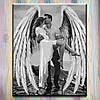 """Картина по номерам, холст на подрамнике - Люди """"Мой ангел-хранитель"""" 40*50 см, без коробки"""
