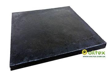 Резиновая пластина ТМКЩ 40 мм 1м*1м, резина листовая, 70кг