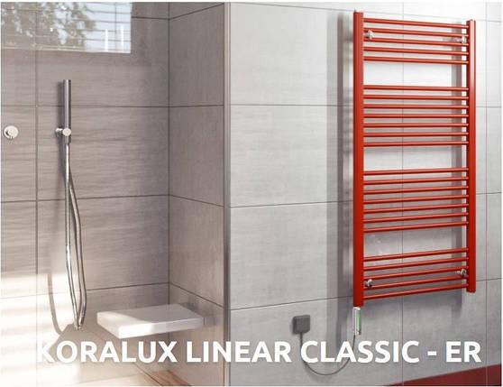 Полотенцесушитель Koralux Linear Classic-ER,  900x450, фото 2
