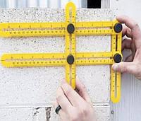 ANGLER - Профессиональная линейка | Строительная линейка для измерения углов