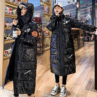 Женская зимняя куртка оверсайз.Теплый женский пуховик S-M