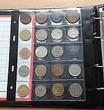 Альбом для монет Schulz 221 ячейка в футляре черные вкладыши, фото 3