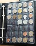 Альбом для монет Schulz 221 ячейка в футляре черные вкладыши, фото 4