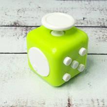 Фиджет Куб Fidget-Cube (антистрес) салатовий з білими кнопками