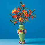 Квіти з гофрованого паперу, фото 6