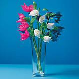 Квіти з гофрованого паперу, фото 7