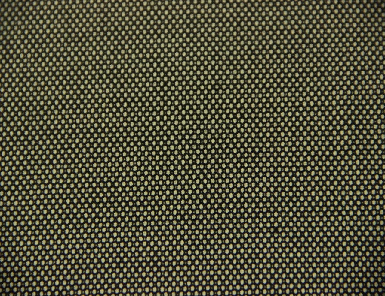 Костюмная ткань итальянская вискоза смесовая черно белого цвета CH 37