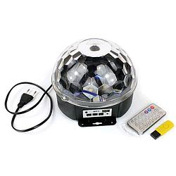 Диско-шар светодиодный Led Magic Ball (bluetooth+USB)