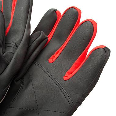 Рукавиці гірськолижні Viking Biset 9 L Чорний-Червоний 34, фото 2