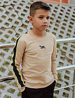 Детский свитшот Staff beige line