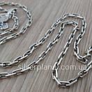 Комплект! Мужская серебряная цепь якорь и крестик с жестким ушком из серебра 925. Цепочка и кулон, фото 10
