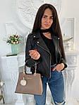 Женская сумка, экокожа PU (бежевый), фото 2