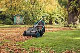 Механическая щетка-сборщик листьев Gardena со сборником, фото 4