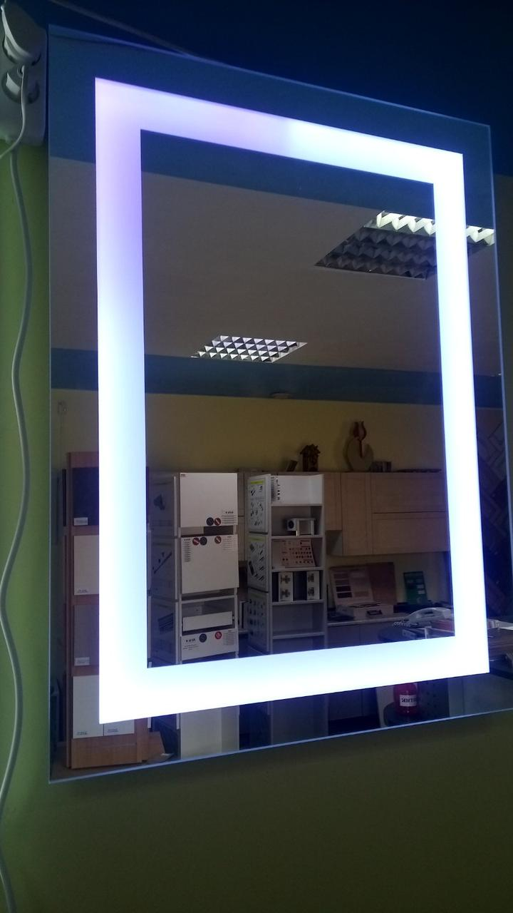 Артес-М / Дзеркало з LED-підсвіткою RGB 800х600х30мм