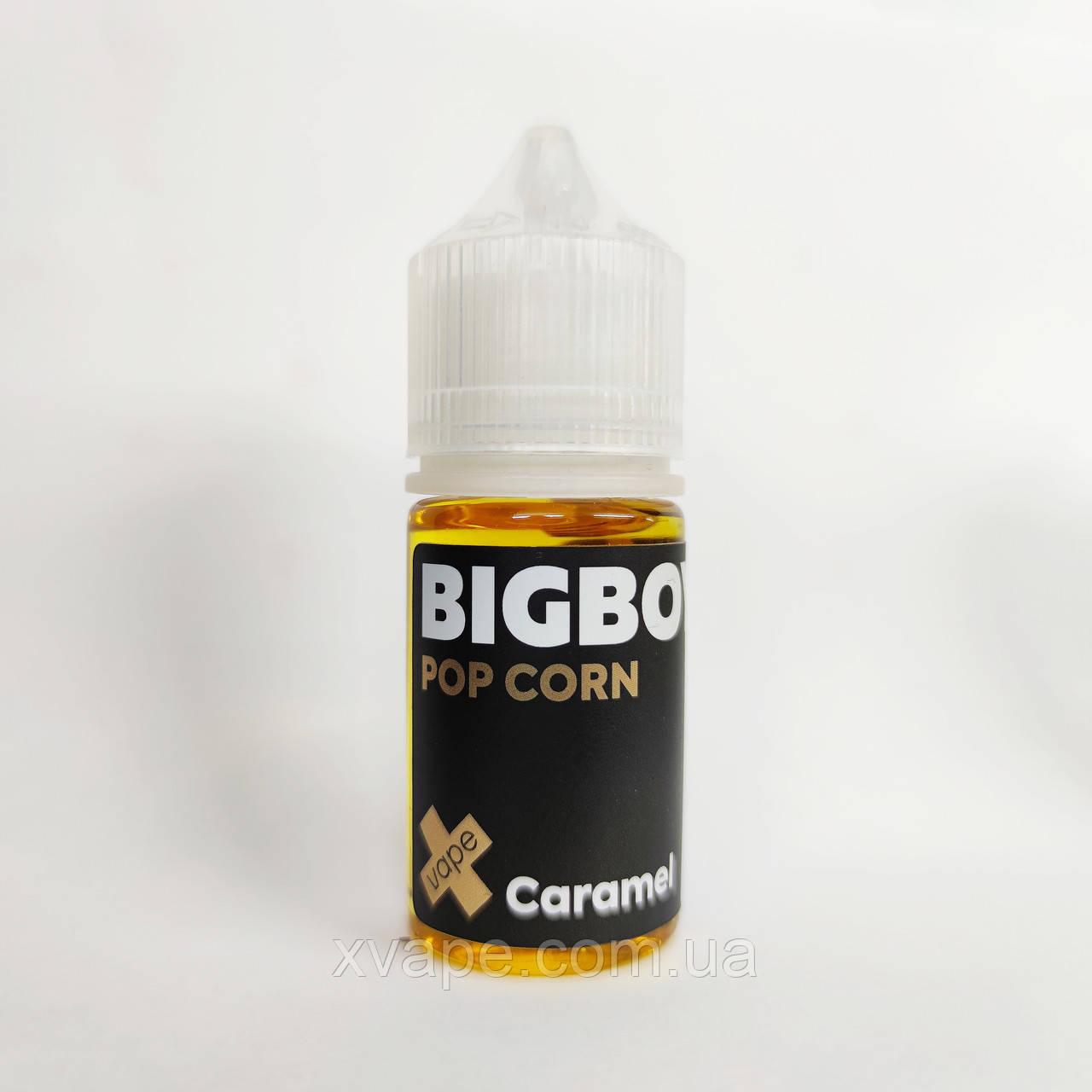 """Топовые жидкости Для POD систем  BIG BOY """"Pop corn caramel"""" 30ml"""