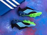 Бутсы Adidas X 18.1/ футбольная обувь без шнурков, фото 4