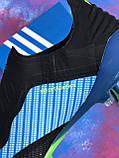 Бутсы Adidas X 18.1/ футбольная обувь без шнурков, фото 5